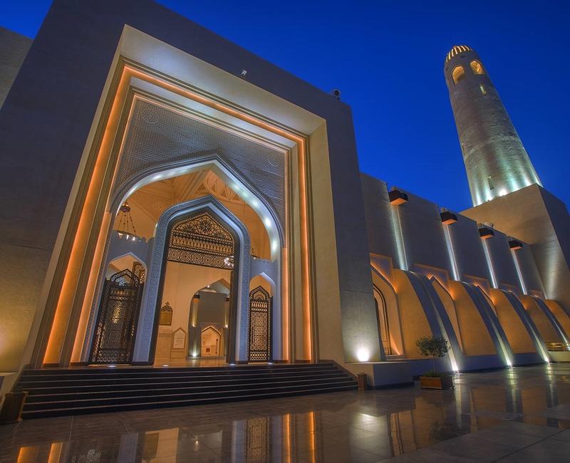 Grand Mosque Qatar Supply of interior Lights Project