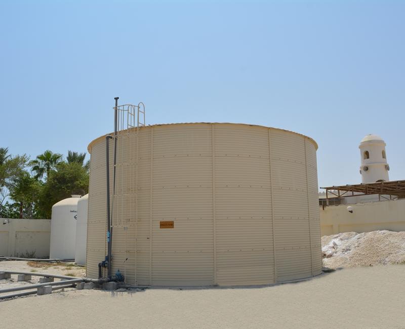 Katara Hospitality, Sealine Beach Resort Storage Tank