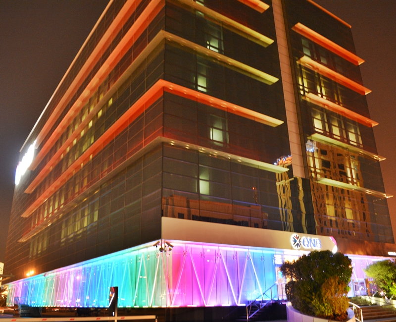 Qatar National Bank Head Office Indoor Lighting Project