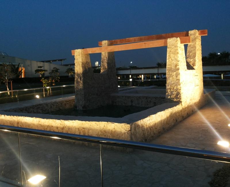 Lighting for Shaqab Historical Well, Qatar Foundation