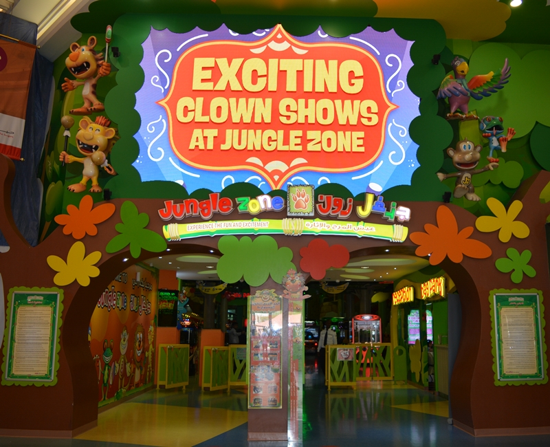 Jungle Zone Indoor Lighting. Mubarak International Company Qatar