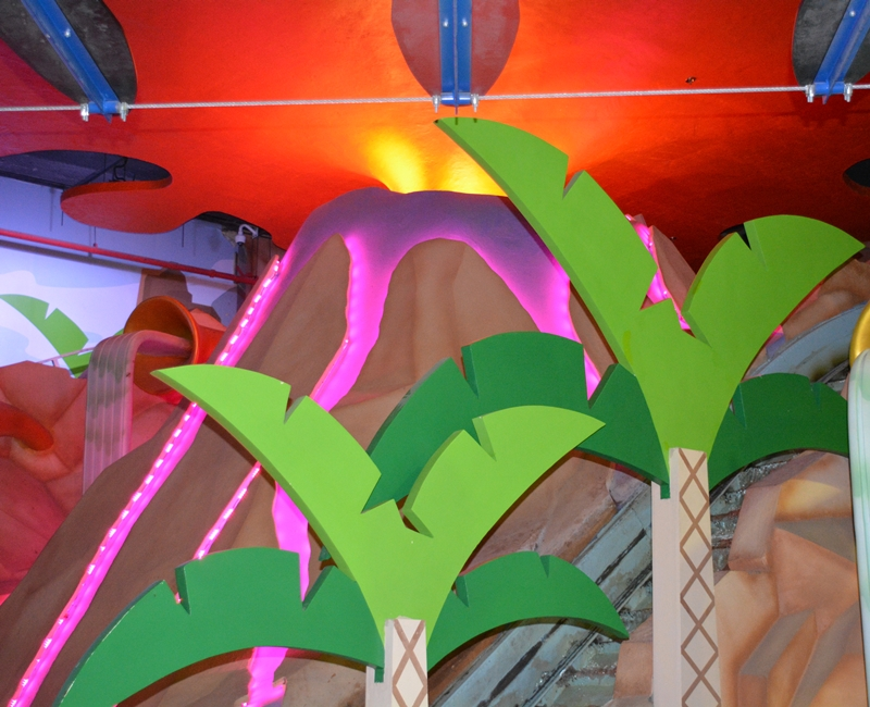 Jungle Zone Indoor Lighting