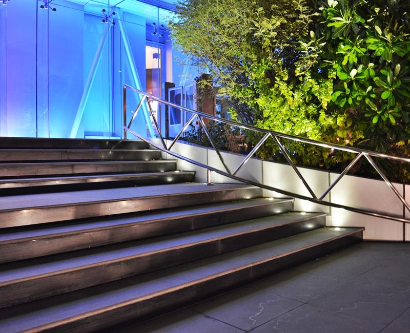 Qatar National Bank Landscaping Lighting