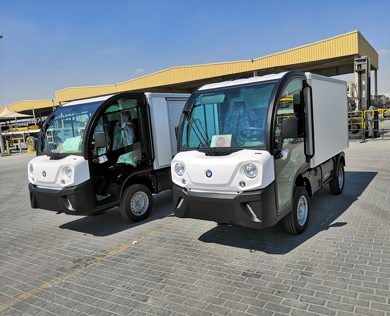 Electric Utility Vehicle Sales In Qatar. Mubarak International Company.