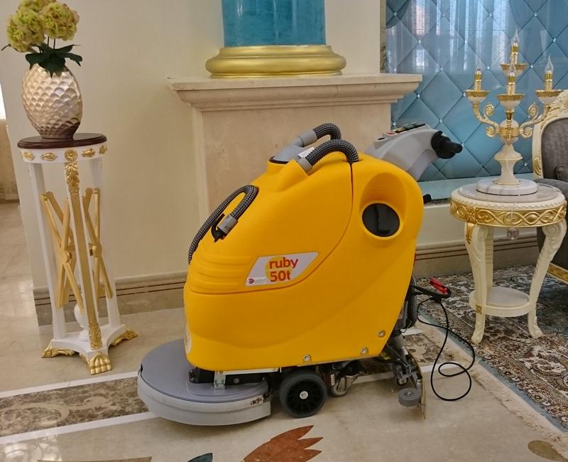 Villa At Shamal Floor Cleaning Equipments