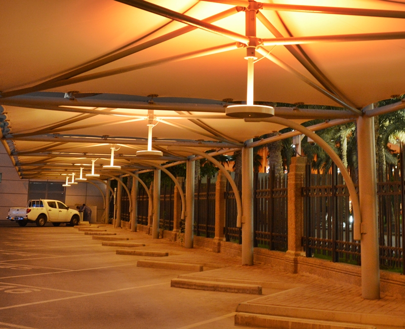 Qatar National Bank Corniche, Car Park Lighting