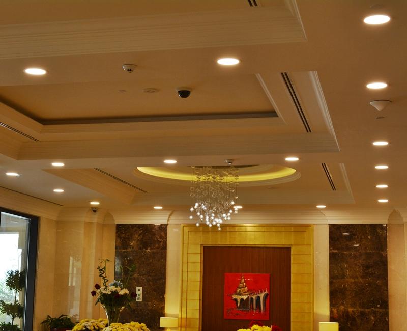 Retaj Hotel Pearl Qatar Indoor Lighting Project