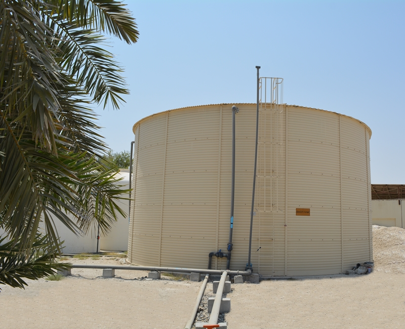 420 M3 TSE STORAGE TANK, KATARA HOSPITALITY (SEALINE BEACH RESORT), DO