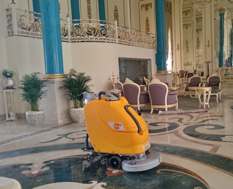 Villa At Shamal Floor Cleaning Equipments